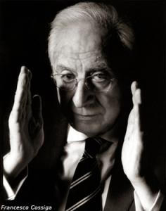 Francesco Cossiga (foto Ansa-SS)